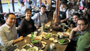 Korean Barbecue mit Hogen Yun