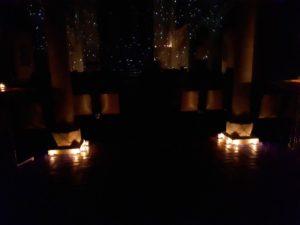 St. Markus München Beleuchtung Kerzen Weihnachtskonzert Vocal Arts Society 12 2017