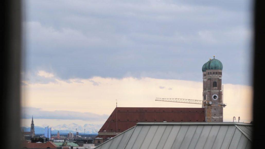 Turm Markuskirche Blick Frauenkirche