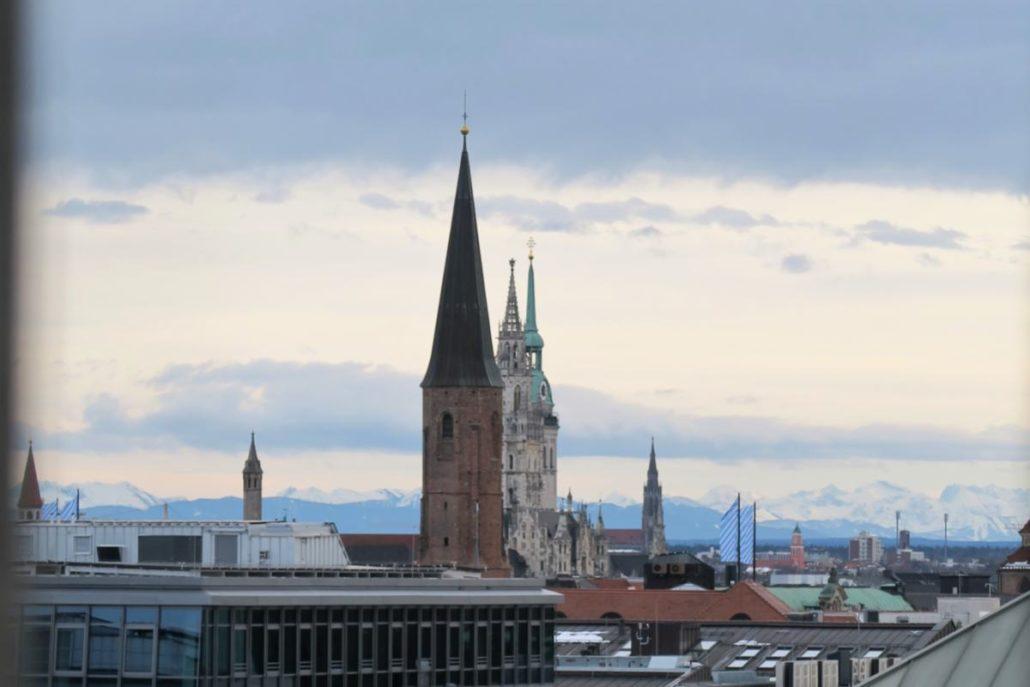 Turm Markuskirche Blick Türme